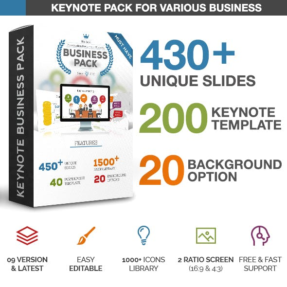 Business Pack Presentation - Keynote Template