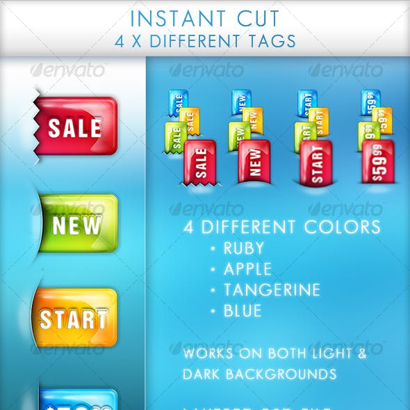 Instant Cut buttons