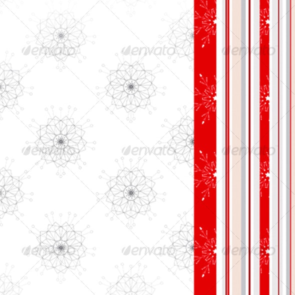 Christmas Background - Patterns Decorative
