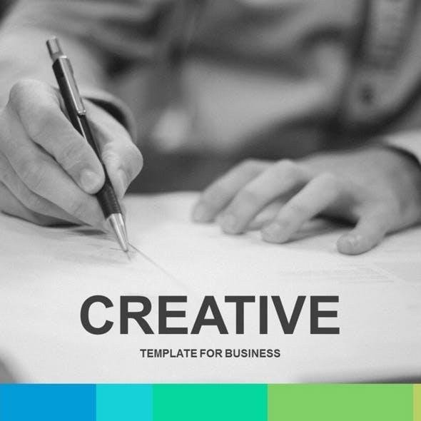 Creative GoogleSlides Template