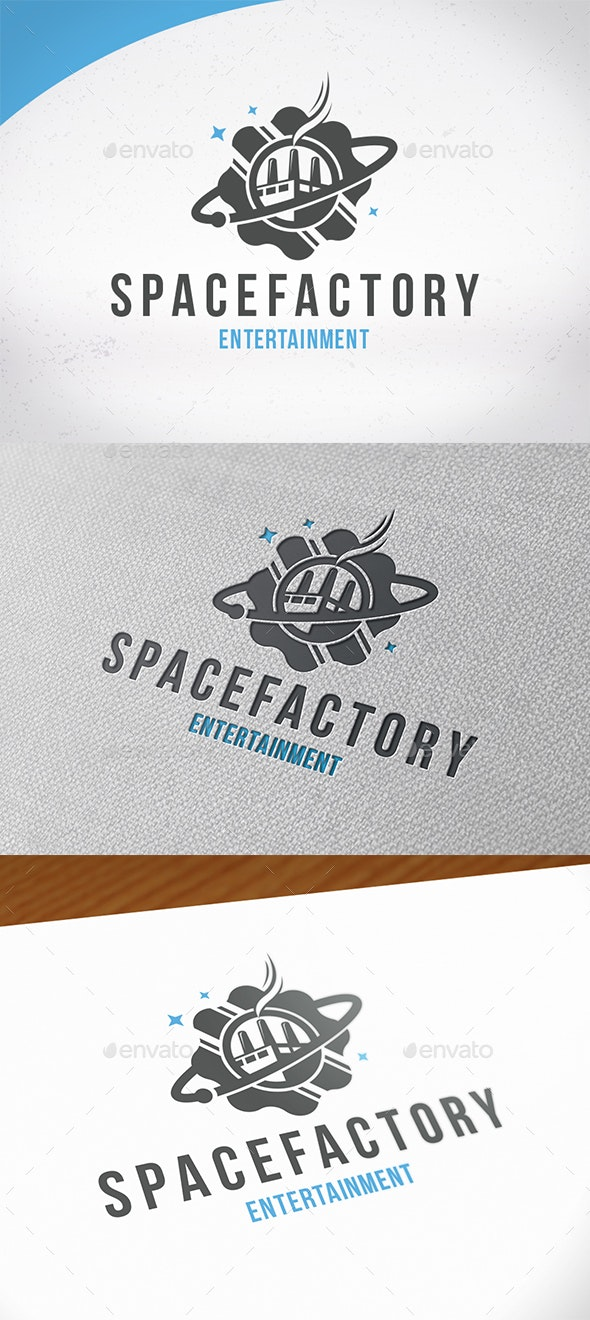 Space Factory Logo Template