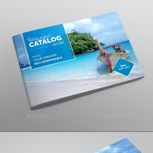 Travel Brochure & Catalog Template