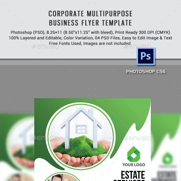 Corporate Multipurpose Business Flyer