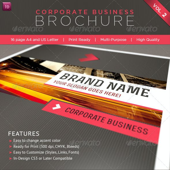 Professional Corporate Business Brochure Vol. 2