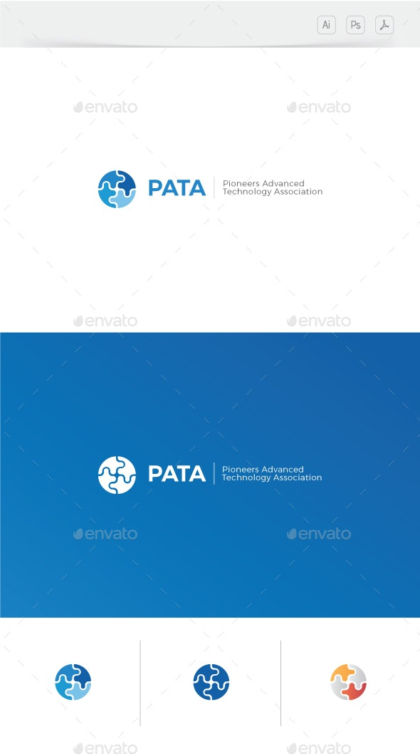 Pioneers Technology Logo - Abstract Logo Templates