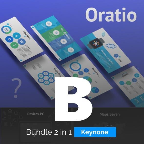 2 in 1 - Bundle Keynote - ORATIO + The 7