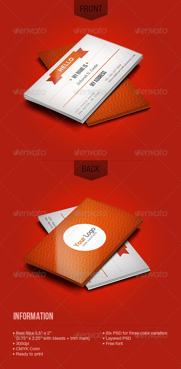 Web 2.0 Style Business Card - Creative Business Cards