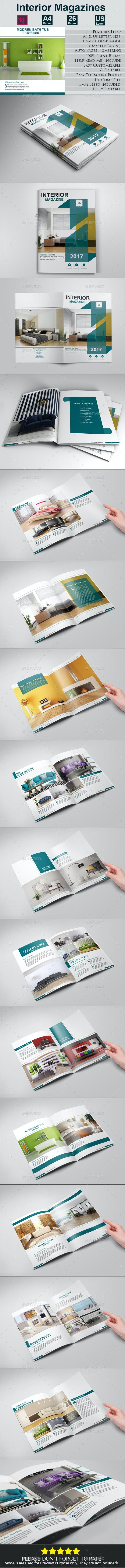 Interior Brochures - Brochures Print Templates