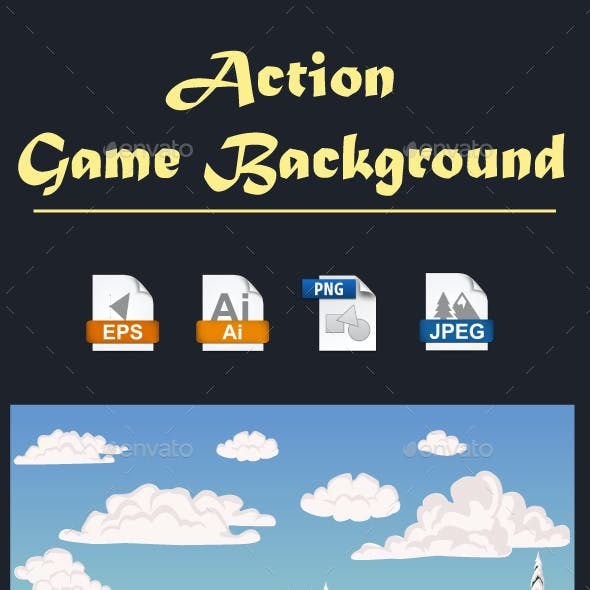 Action Game Background