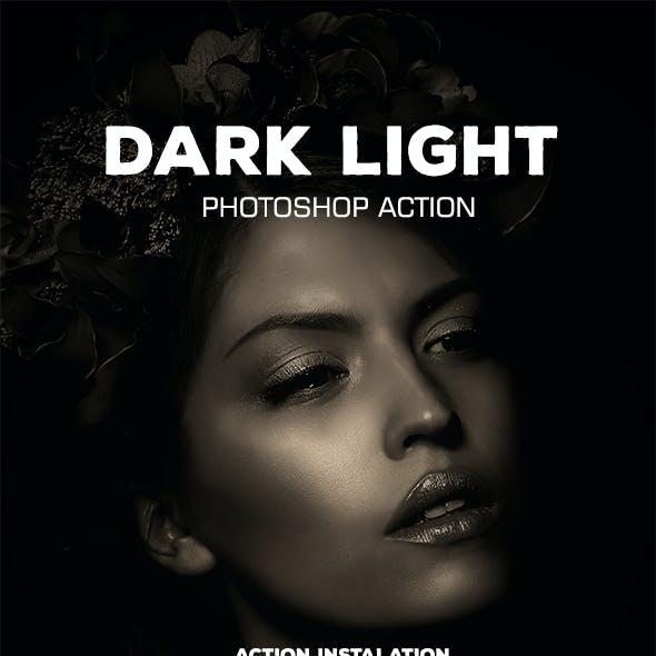Dark Light Master - Photoshop Action #40