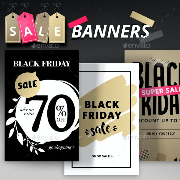 Black Friday Social Media Banners