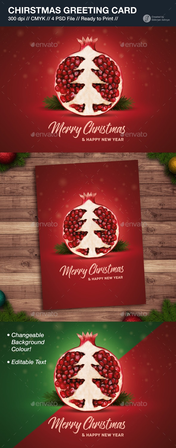 Christmas Greeting Card - Greeting Cards Cards & Invites