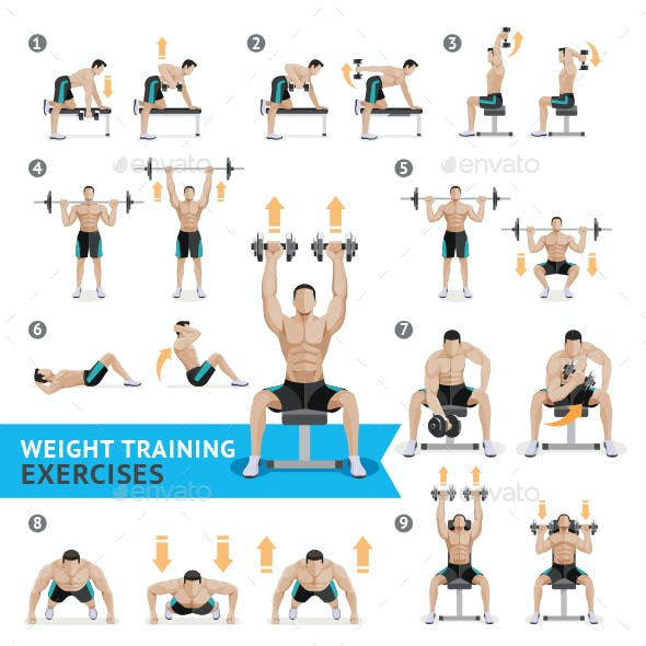 Dumbbell Exercises and Workouts Weight Training