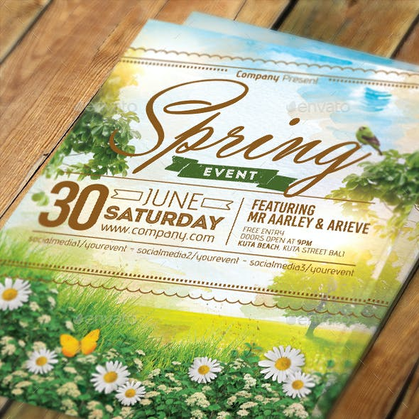 Spring Event Flyer / Invitation
