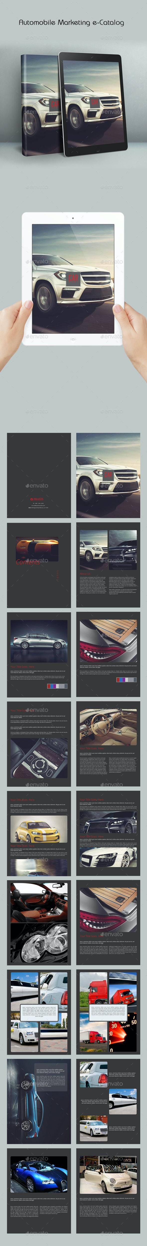 Automobile Marketing e-Catalog