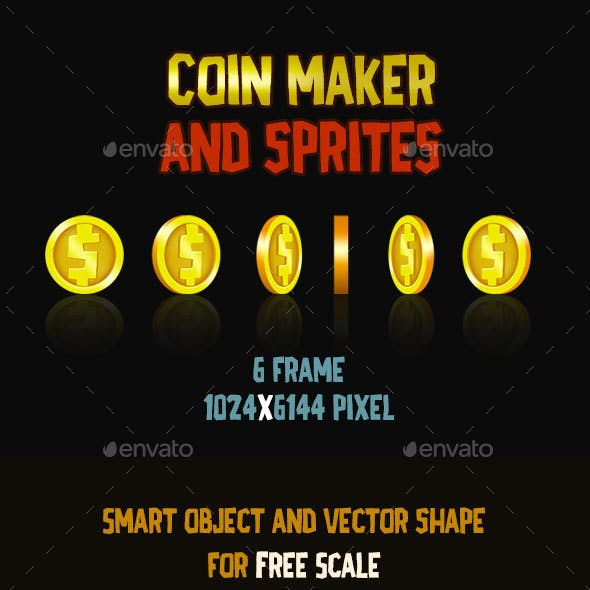 Coin Maker and Sprites