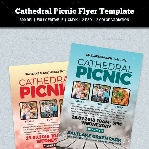 Cathedral Picnic Flyer