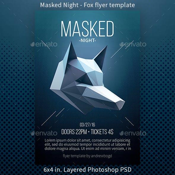 Masked Night - Fox