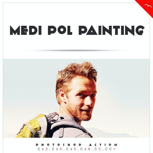 Medi pol Painting