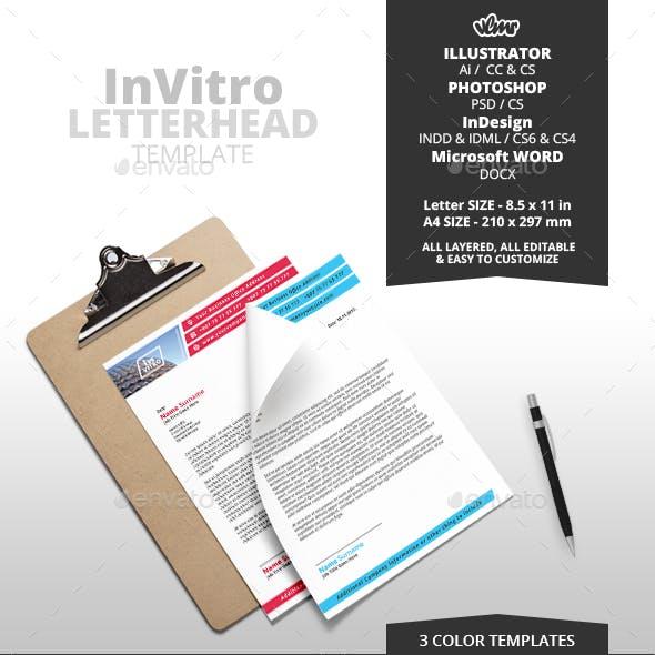 InVitro Letterhead Template