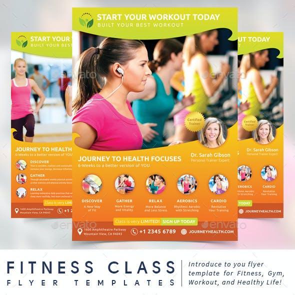 Fitness Class Flyer