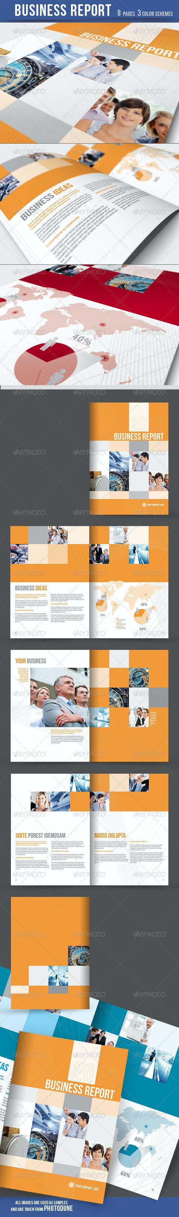 Business Report / Brochure - Corporate Brochures