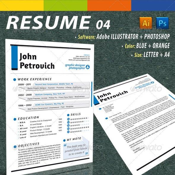 GD Resume 04