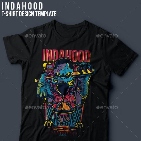 Indahood T-Shirt Design