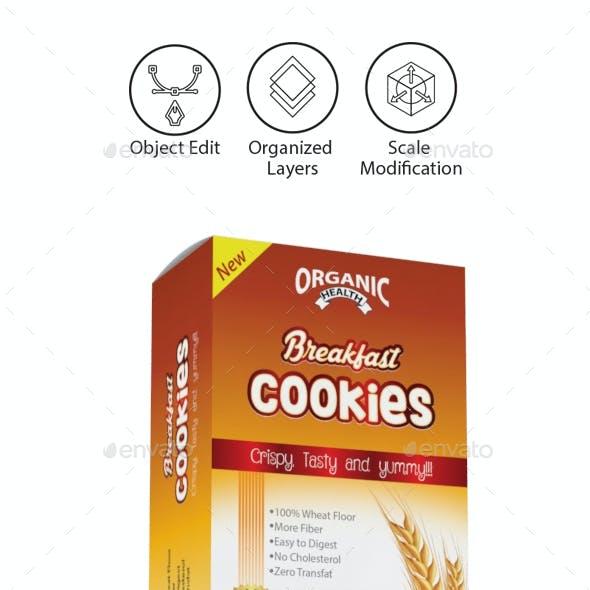Cookies Packaging Templates