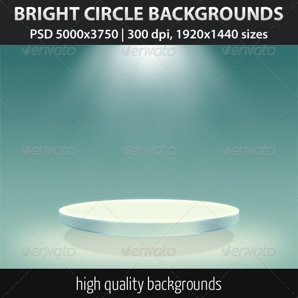 Bright Circle Backgrounds