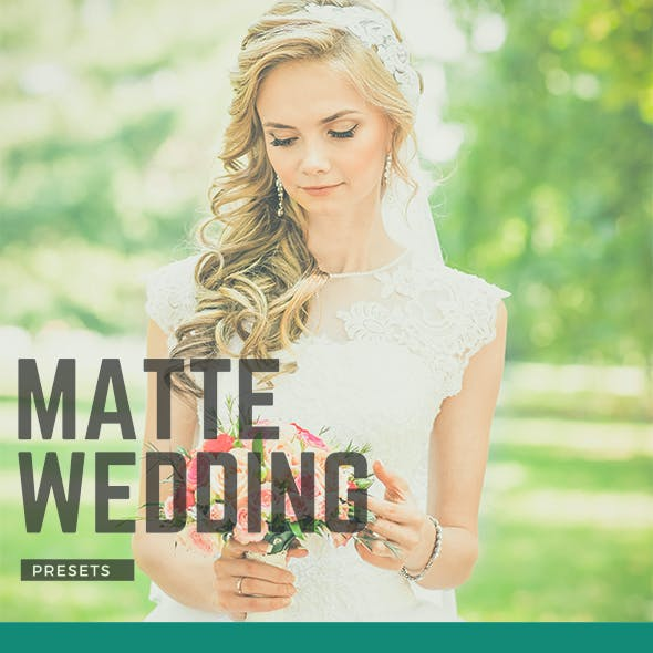 Matte-Wedding Premium Lightroom Presets Vol.1
