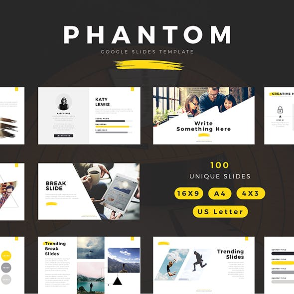 Phantom Modern Google Slides Template