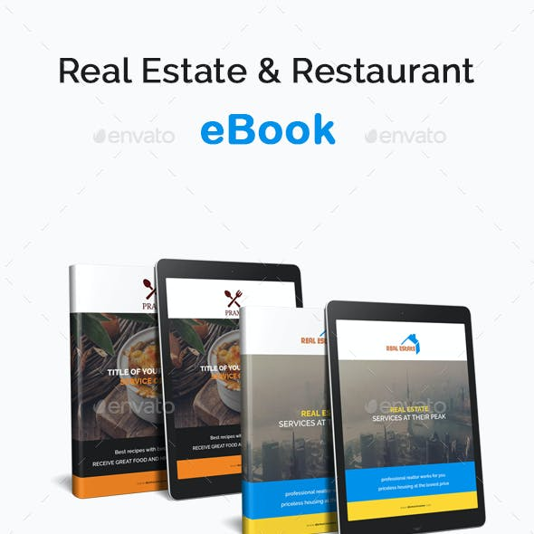 Real Estate eBook & Restaurant eBook