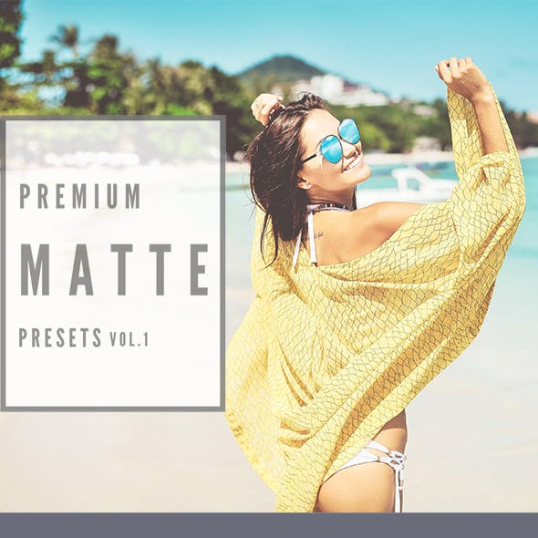 Premium Matte Lightroom Presets Vol.1