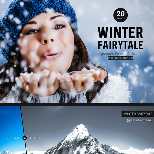 Winter Fairytale Lightroom Presets