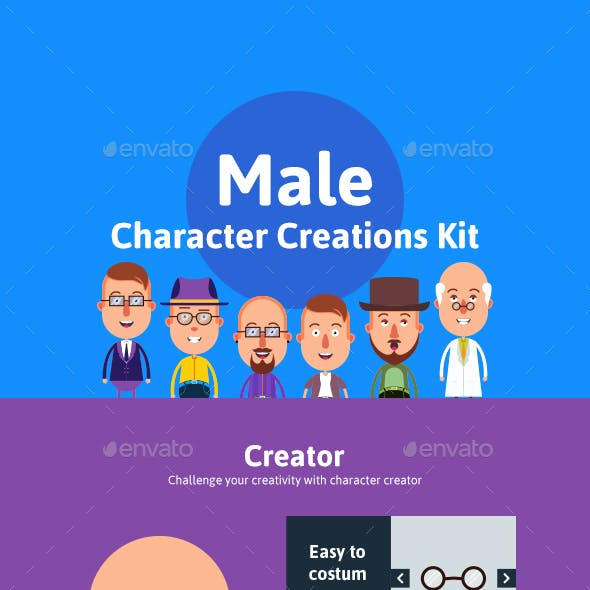 Male Character Creations Kit