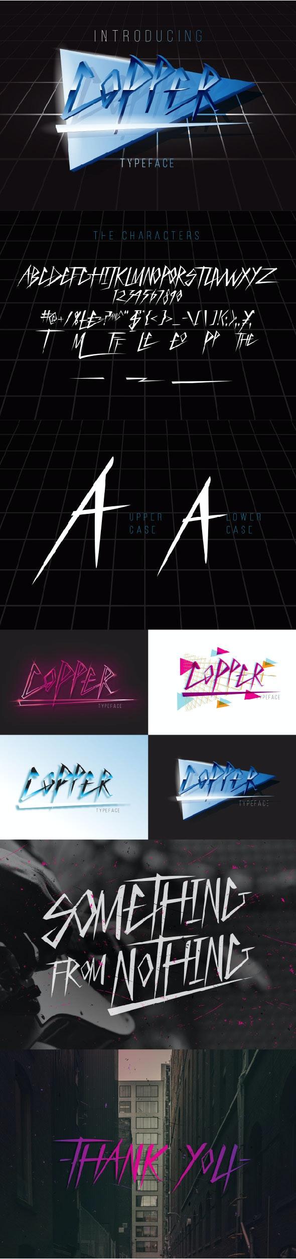 COPPER FONT - Fonts