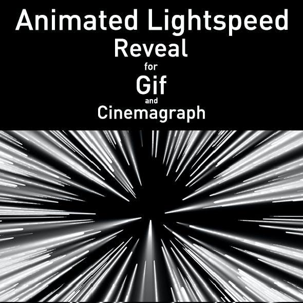 Animated Light Speed Reveal