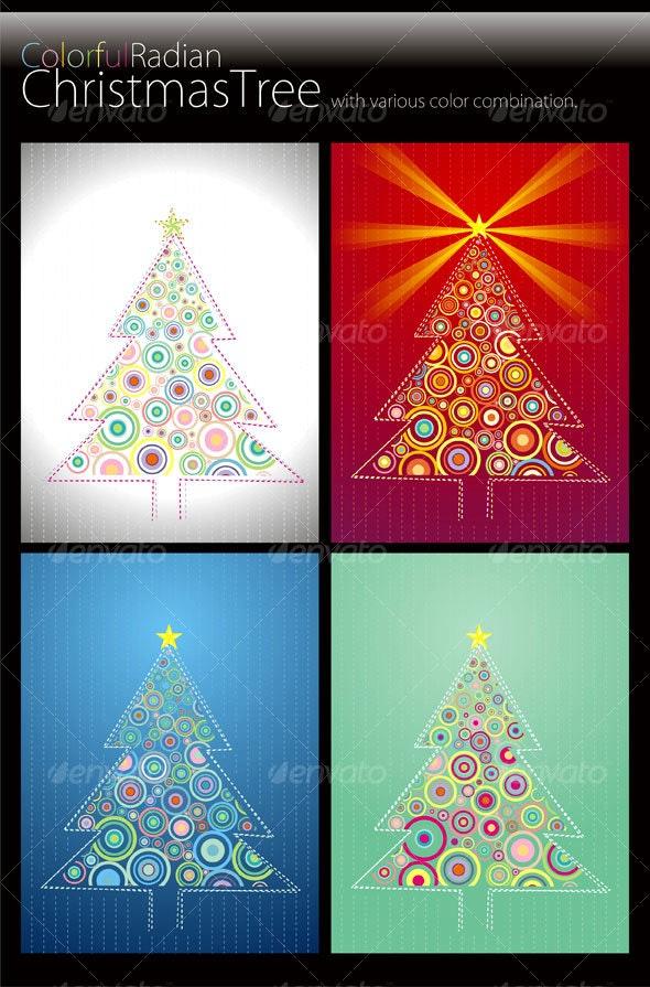 Radian Christmas Tree - Christmas Seasons/Holidays