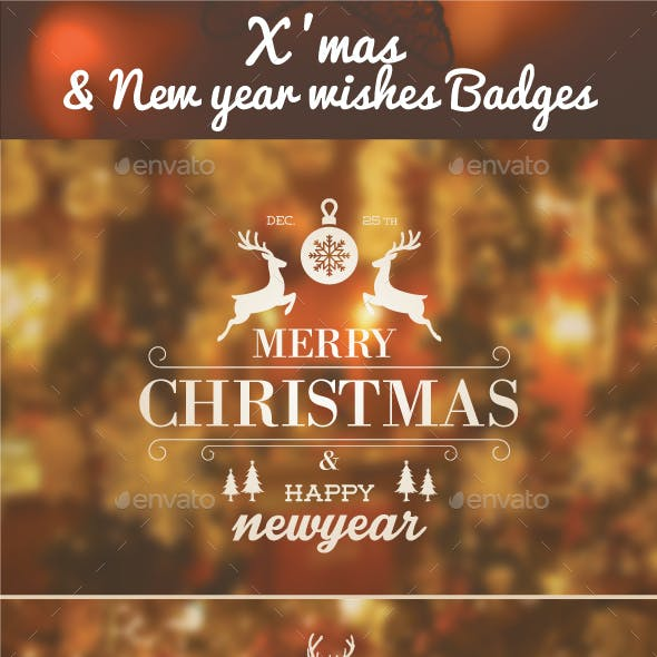 Xmas & New Year wishes