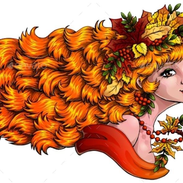 Seazon Girl Autumn Color