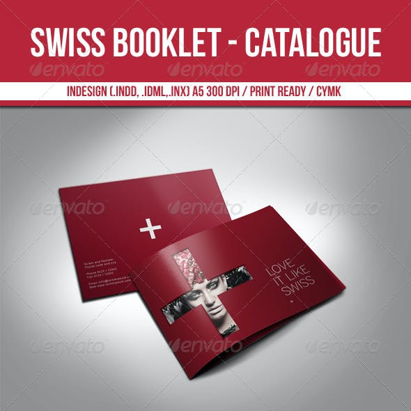 Swiss Booklet - Catalogue