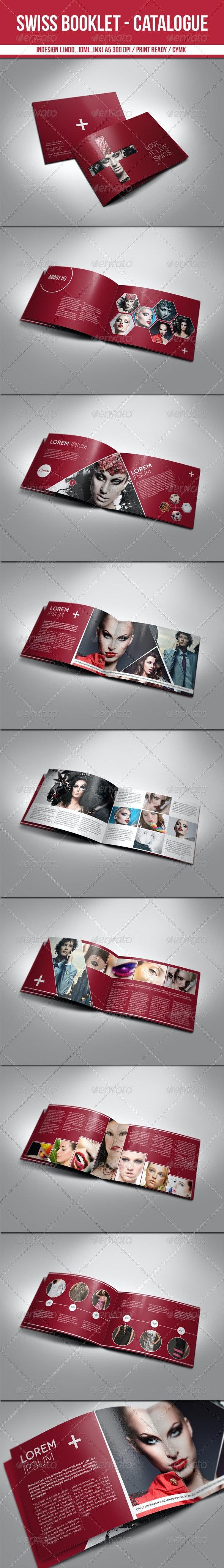 Swiss Booklet - Catalogue  - Catalogs Brochures