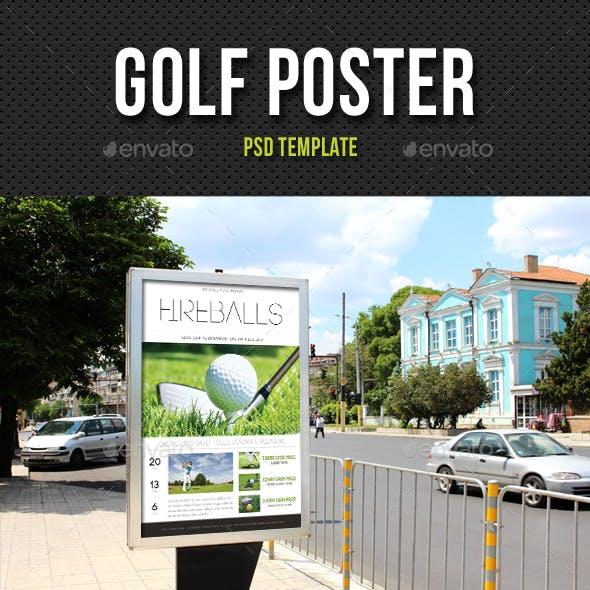 Golf Poster V2