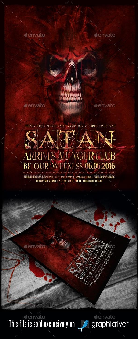 Heavy Metal Flyer/Poster Vol.15 - Events Flyers