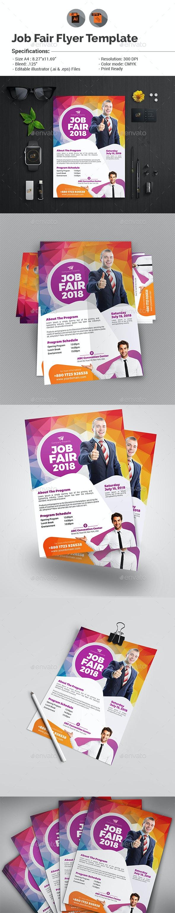 Job Fair Flyer Template V2 - Events Flyers