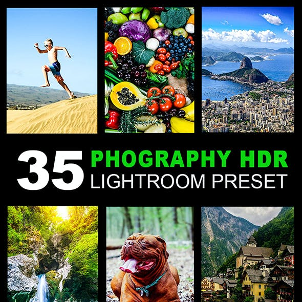 35 Photography HDR Lightroom Preset