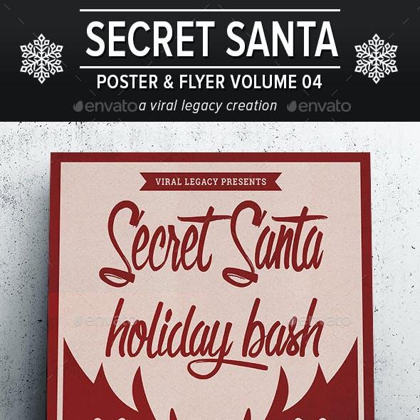 Secret Santa Holiday Bash V04