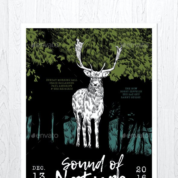 Sound of Nature Flyer
