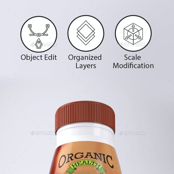 Coffee Drink label Template